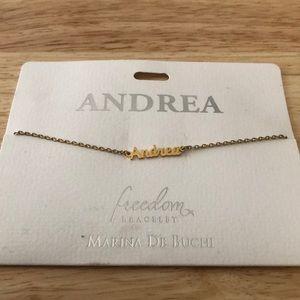 Andrea Name Bracelet
